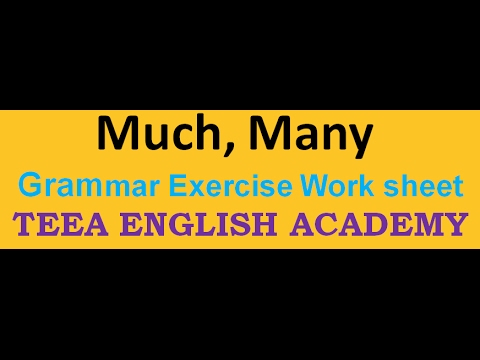 mp4 Exercises Much Many Few Little, download Exercises Much Many Few Little video klip Exercises Much Many Few Little