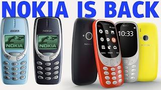 NOKIA - O retorno do Nokia 3310