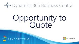 Managing Sales Opportunities And Sales Quotes In Microsoft Dynamics 365 Business Central