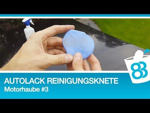 Autolack Reinigungsknete - Motorhaube #3 - Autolack mit knete porentief reinigen