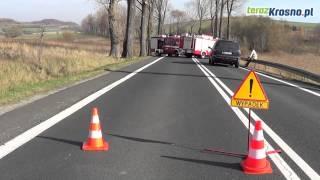 Tragiczny wypadek w Gniewoszówce koło Rymanowa