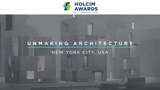 Unmaking Architecture New York – Project Video