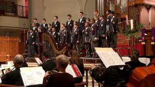 Joy to the World by Lowell Mason arr. by John Rutter sung by the Georgia Boy Choir