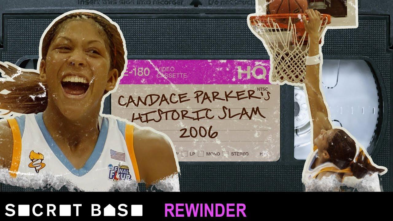 Candace Parker's historic dunk deserves a deep rewind | 2006 NCAA Tournament thumbnail