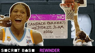Candace Parker's historic dunk deserves a deep rewind | 2006 NCAA Tournament thumbnail