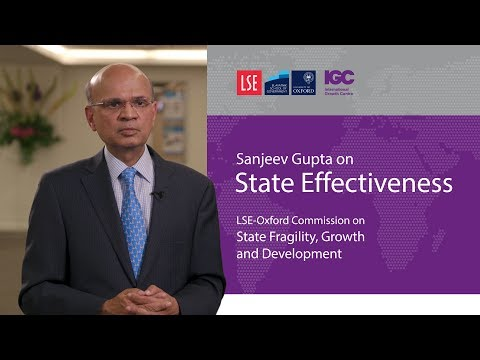 Sanjeev Gupta: Supporting tax and budget systems in fragile states