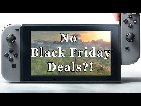 Nintendo Not Discounting the Switch for Black Friday