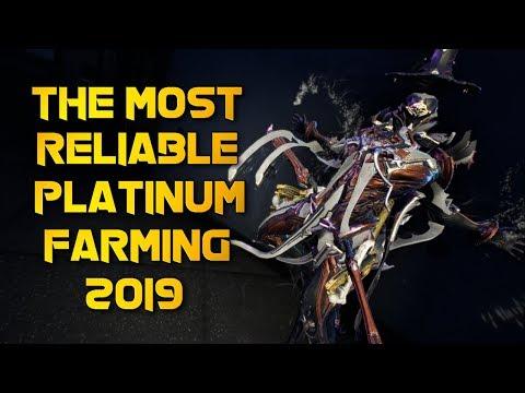 Warframe: MOST RELIABLE PLATINUM FARMING METHOD 2019