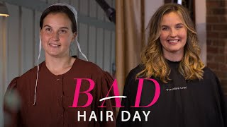 A Stunning Hair Transformation for One Amish Woman | Bad Hair Day | Glamour
