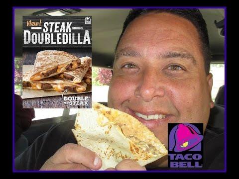 Taco Bell® | Steak DoubleDilla REVIEW!