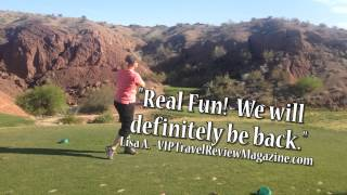 preview picture of video 'Emerald Canyon Golf Course - Reviews by VIP Travel Review Magazine'