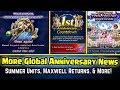 Final Fantasy Brave Exvius Maxwell Returns Summer Units More