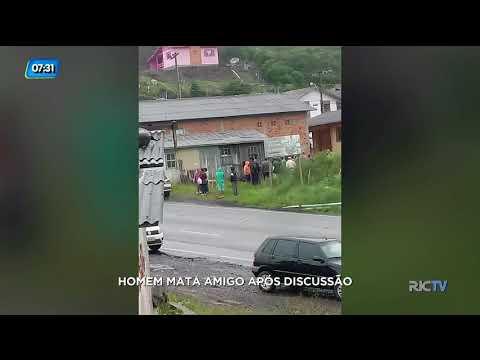 Homem mata amigo após discussão em Bom Jardim da Serra