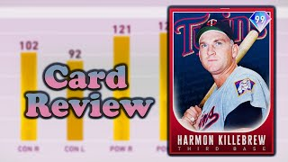 How Good Is 99 Harmon Killebrew? (Card Review From A Top 50 Player) [MLB The Show 20]