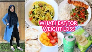 HOW I LOST 40+ POUNDS | 1500 CALORIES A DAY | WHAT I EAT IN A DAY TO LOSE WEIGHT!