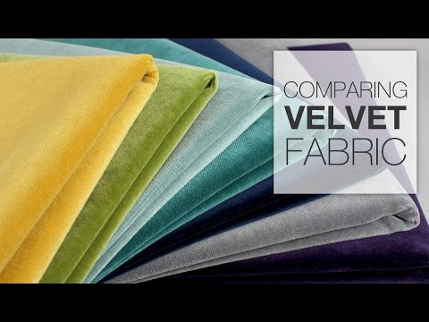 Comparing Velvet Fabric