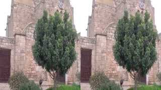 preview picture of video 'Northern Cyprus St Barnabas Monastery 3D HSBS'
