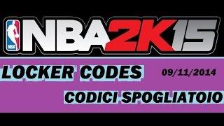 VC GRATIS !!! NBA 2K15 Codici Spogliatoio ITA Locker Codes NEW
