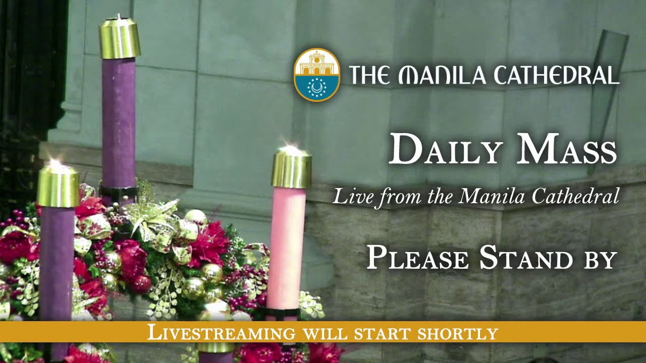 Catholic Daily Mass 15th December 2020 at the Manila Cathedral