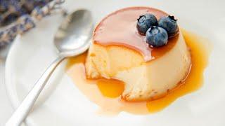 КРЕМ - КАРАМЕЛЬ - нежный ванильный крем и карамельный соус / рецепт / вкусный десерт Crème Caramel