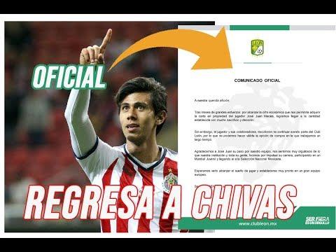 ¡OFICIAL!  JJ MACIAS REGRESA A CHIVAS