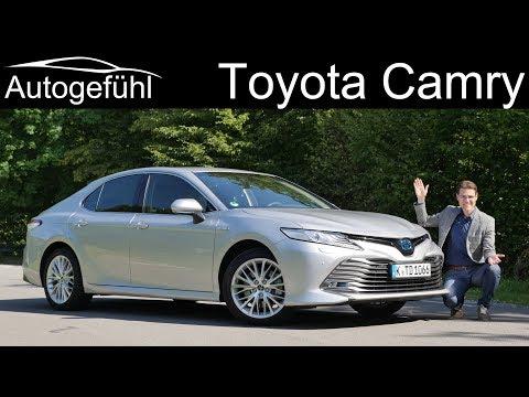 Toyota Camry Hybrid FULL REVIEW Camry XV70 - Autogefühl