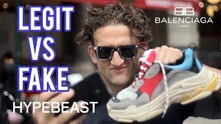 BALENCIAGA TRIPLE S: LEGIT VS FAKE