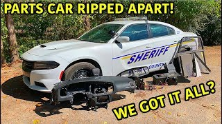 Rebuilding A Wrecked 2018 Dodge Charger Police Car Part 7