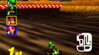 """Myles ~ Mario Kart 64 - Wario Stadium 150CC 3lap 16""""85"""
