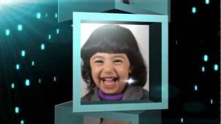 preview picture of video 'المشاركون والفائزون في مهرجان بسمة طفل ~ ستوديو فرح'