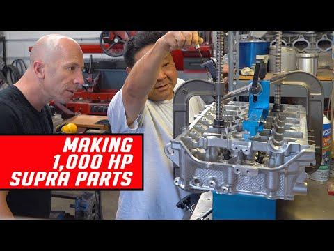 Wie man 1000 PS Teile für den A90 herstellt