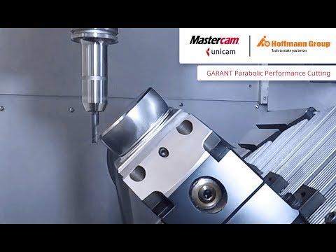 GARANT Parabolic Performance Cutting mit Mastercam