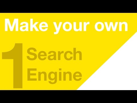 Make your Own Search Engine - Part 1 - Getting Started!