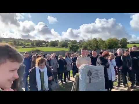 Irish man plays a prank at his own funeral