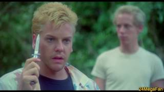 'Stand By Me' Knife / Gun clip with Kiefer Sutherland (HD)