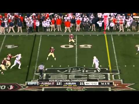 Florida State wins the 2014 BCS National Championship [Highlight Video]