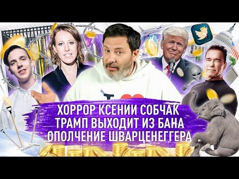 Хоррор Ксении Собчак / Трамп выходит из бана / Ополчение Шварценеггера / МИНАЕВ