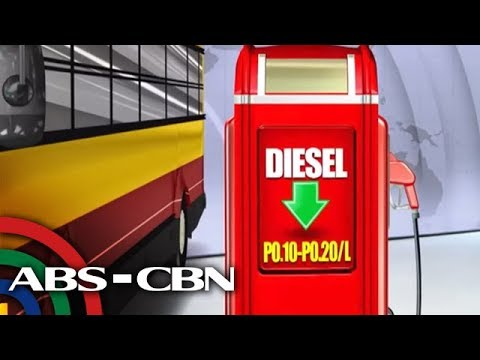 [ABS-CBN]  TV Patrol: Diesel may rollback sa Martes