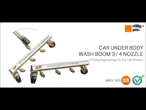 Underbody Car Cleaning Water Boom