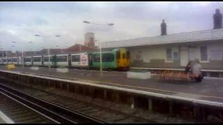preview picture of video 'Class 455 and Class 378 at New Cross Gate'