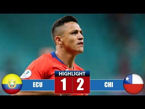 Εсuаdоr vs Chіlе 1-2 Highlights & Goals