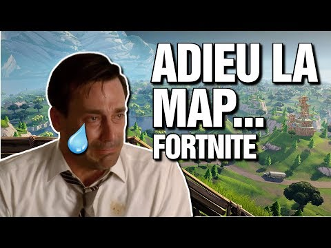 Adieu vieille map! Fortnite