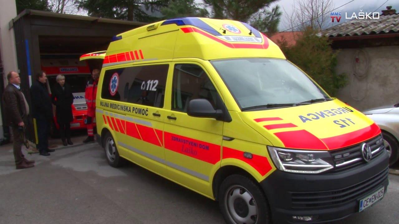 Novo reševalno vozilo za Zdravstveni dom Laško