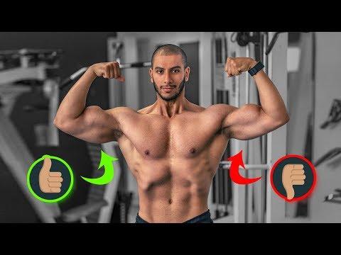 Lensemble de la gymnastique pour les muscles de la zone humérale