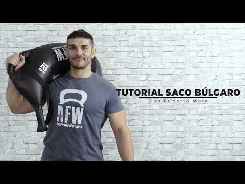 Vídeo YouTube Saco de entrenamiento Black