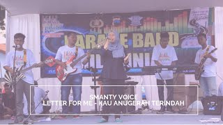 LETTER FOR ME - Kau Anugerah Terindah (Cover By Smanty Voice)