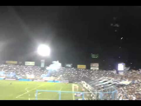 """""""Gran Recibimiento Atlético Tucuman 2-1 Racing (7/2/16)"""" Barra: La Inimitable • Club: Atlético Tucumán"""
