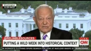 Bob Schieffer fomerly CBS News feels the special investigator could be the best thing to happen to T