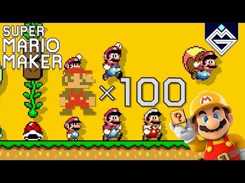 Super Mario Maker // 100 Super Expert // Niveles Kaizo [LIVE]