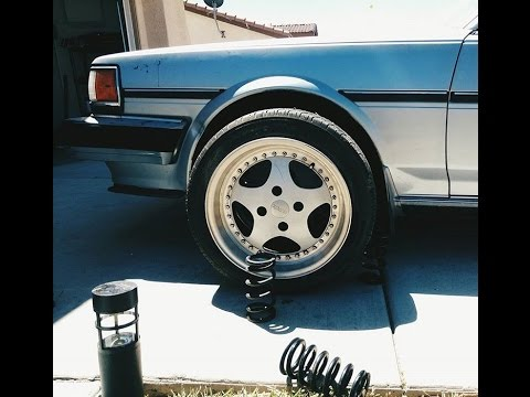 New wheels for the Cressida!